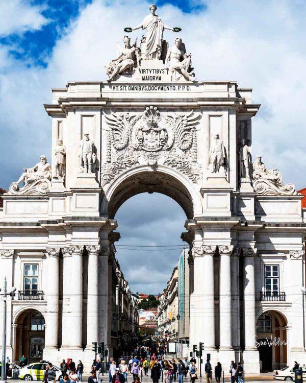 Puerta de Entrada a Lisboa, Portugal