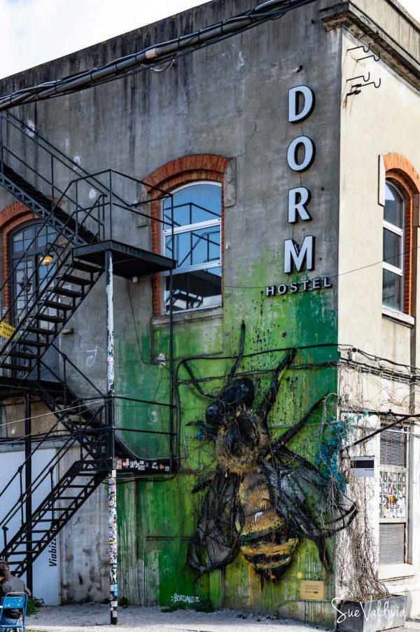 Street Art LX Factory Lisboa, Portugal