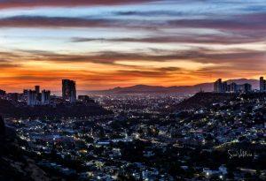 Atardecer en Queretaro, México