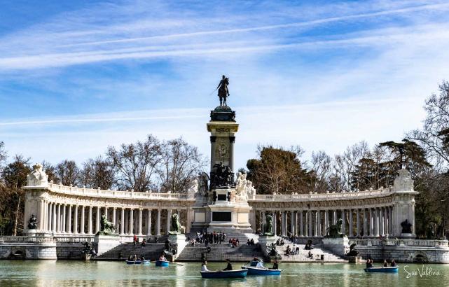 Parque del Retiro, Madrid España