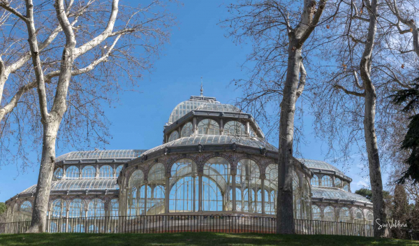 """""""El Palacio de Cristal"""" Parque del Retiro, Madrid, España"""
