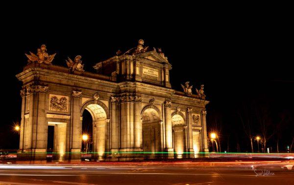 La Puerta de Alcala, Madrid, España